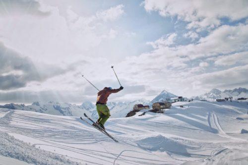 skier en suisse