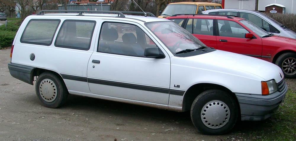 Opel Kadett E Break