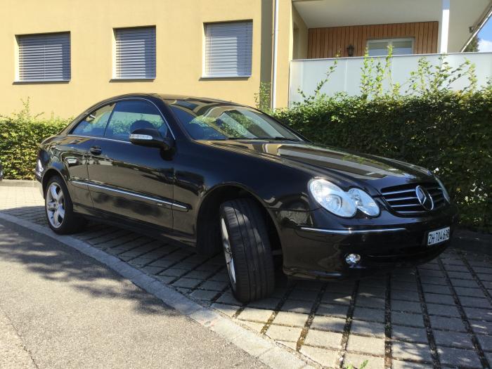 Mercedes CLK 500