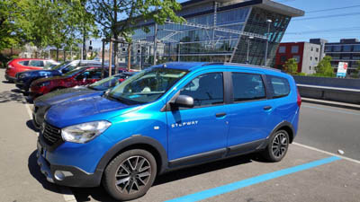 Dacia LODGY 1.6L Essence - 7 Places