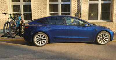 Tesla Model 3 Long range mit Performance Update