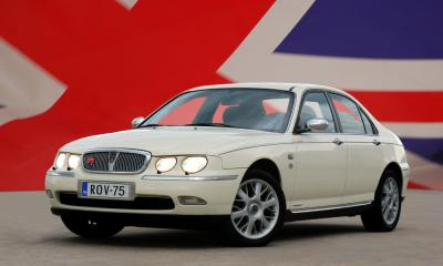 Rover Rover 75 1.8i / weiss