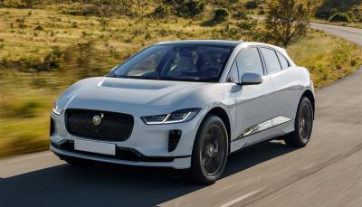 Jaguar Elektro Fahrzeug i-Pace mit 475 km Reichweite