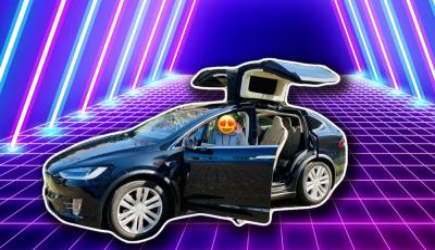 Tesla Model X 90D (neuester Autopilot)